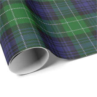 Scottish Clan Abercrombie Tartan Wrapping Paper