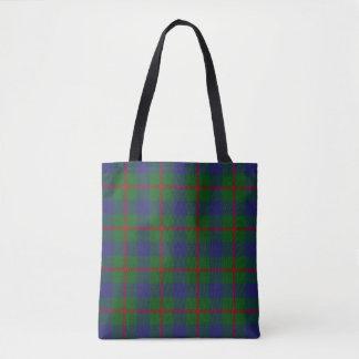 Scottish Clan Agnew Tartan Plaid Tote Bag