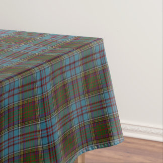 Scottish Clan Anderson Tartan Tablecloth
