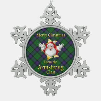 Scottish Clan Armstrong Christmas Ornament