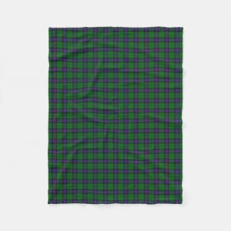 Scottish Clan Armstrong Classic Tartan Fleece Blanket