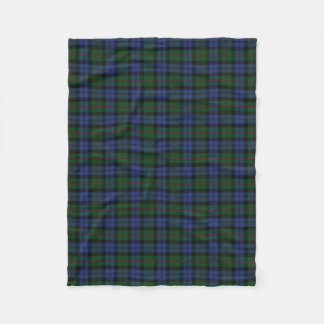 Scottish Clan Baird Classic Tartan Fleece Blanket