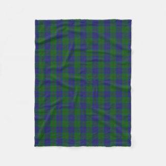 Scottish Clan Barclay Hunting Classic Tartan Fleece Blanket