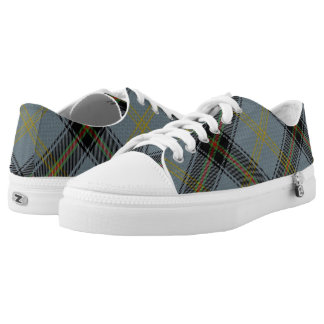 Scottish Clan Bell Tartan Low Tops