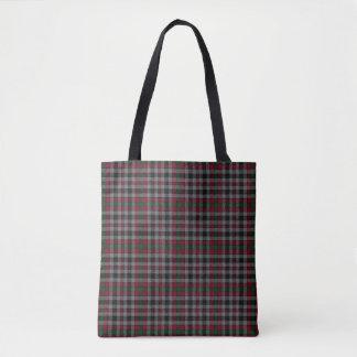 Scottish Clan Borthwick Tartan Plaid Tote Bag