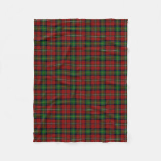 Scottish Clan Boyd Classic Tartan Fleece Blanket