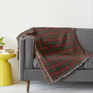 Scottish Clan Boyd Tartan Throw Blanket