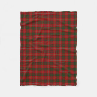 Scottish Clan Bruce Classic Tartan Fleece Blanket
