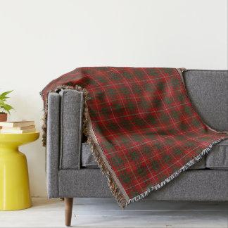 Scottish Clan Bruce Tartan Throw Blanket