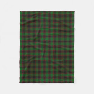 Scottish Clan Buchan Classic Tartan Fleece Blanket