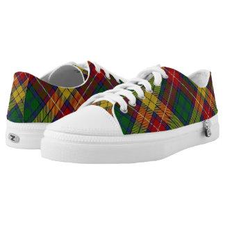 Scottish Clan Buchanan Tartan Low Tops