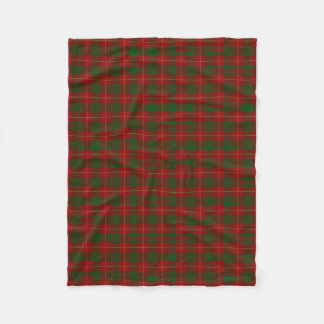 Scottish Clan Cameron Classic Tartan Fleece Blanket