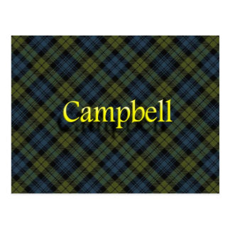 Scottish Clan Campbell Postcard