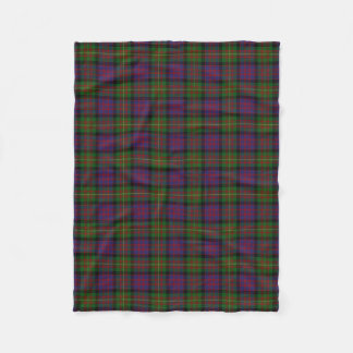 Scottish Clan Carnegie Classic Tartan Fleece Blanket
