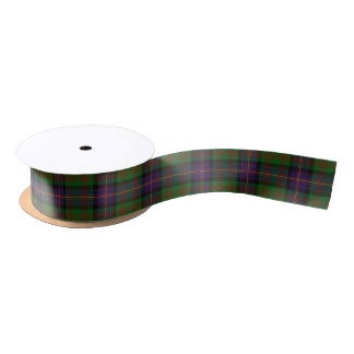 Scottish Clan Cochrane Cochran Classic Tartan Satin Ribbon