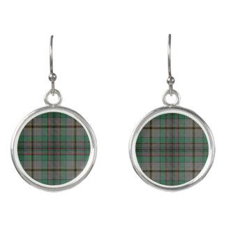 Scottish Clan Craig Tartan Plaid Earrings