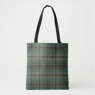 Scottish Clan Craig Tartan Plaid Tote Bag