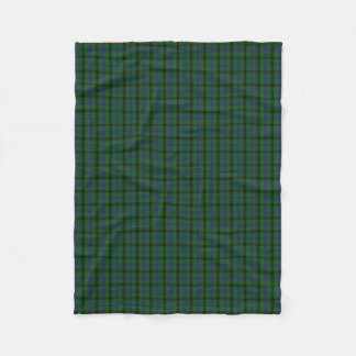 Scottish Clan Davidson Classic Tartan Fleece Blanket