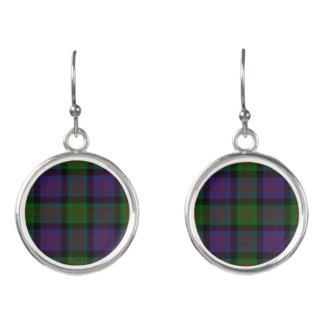 Scottish Clan Donald MacDonald Tartan Plaid Earrings