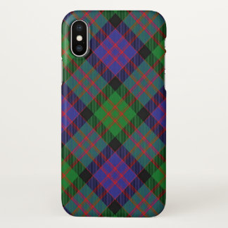 Scottish Clan Donald MacDonald Tartan Plaid iPhone X Case