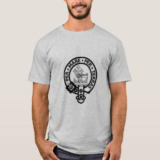 Scottish Clan Donald Tartan and Crest T-Shirt