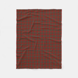 Scottish Clan Drummond Classic Tartan Fleece Blanket