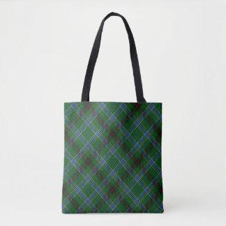 Scottish Clan Duncan Tartan Plaid Tote Bag