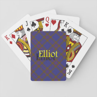 Scottish Clan Elliot Playing Cards