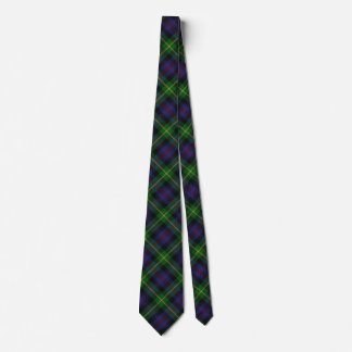 Scottish Clan Farquharson Tartan Tie