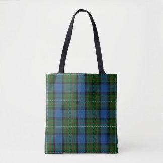 Scottish Clan Fergusson Ferguson Tartan Plaid Tote Bag