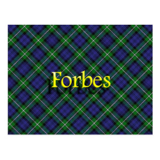 Scottish Clan Forbes Postcard