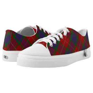 Scottish Clan Fraser Tartan Low Tops