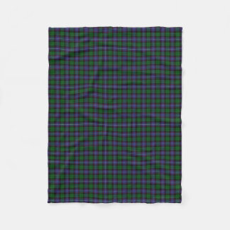 Scottish Clan Galbraith Classic Tartan Fleece Blanket