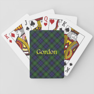 Scottish Clan Gordon Playing Cards