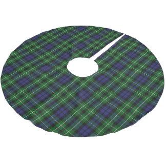 Scottish Clan Graham Blue Green Tartan Brushed Polyester Tree Skirt