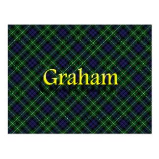 Scottish Clan Graham Postcard