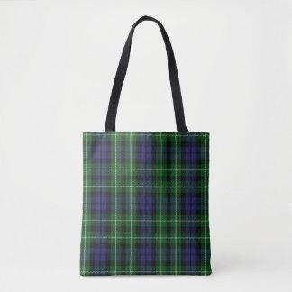 Scottish Clan Graham Tartan Plaid Tote Bag