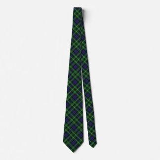 Scottish Clan Graham Tartan Tie