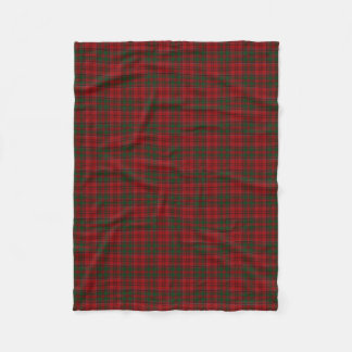 Scottish Clan Grant Classic Tartan Fleece Blanket