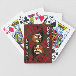 Scottish Clan Grant Tartan Deck Bicycle Playing Cards