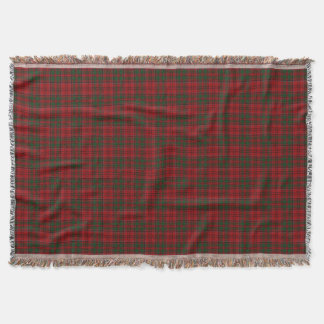 Scottish Clan Grant Tartan Throw Blanket