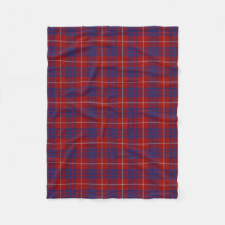 Scottish Clan Hamilton Classic Tartan Fleece Blanket