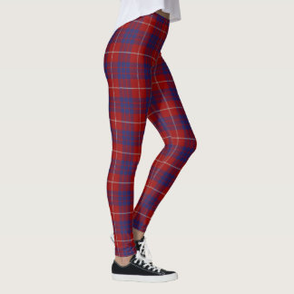 Scottish Clan Hamilton Tartan Leggings