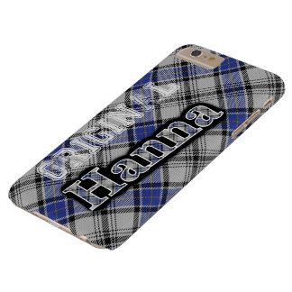 Scottish Clan Hanna Hannay Tartan Barely There iPhone 6 Plus Case