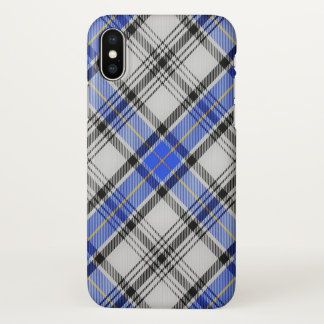 Scottish Clan Hannay Tartan Plaid iPhone X Case