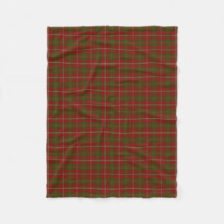 Scottish Clan Hay Classic Tartan Fleece Blanket