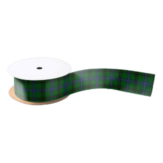 Scottish Clan Henderson Classic Tartan Satin Ribbon