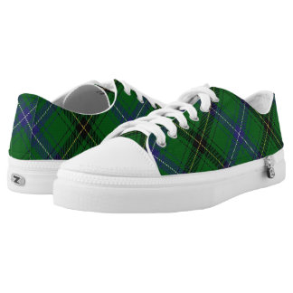 Scottish Clan Henderson Tartan Low Tops