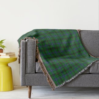 Scottish Clan Henderson Tartan Throw Blanket