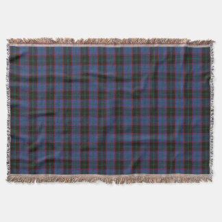 Scottish Clan Home Tartan Throw Blanket